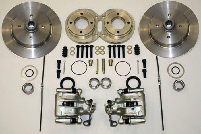 Kerscher Rear Disc Brake 100/4 Swing-Axle, fits Volkswagen Beetle
