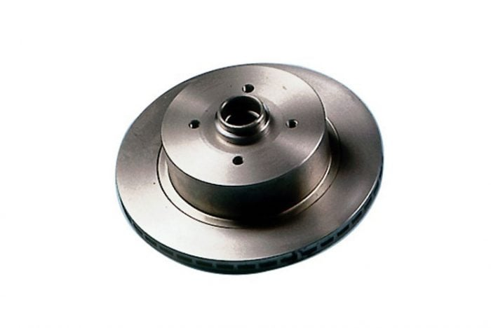 Kerscher Brake Disc Front Vented 130/4, fits Volkswagen Beetle