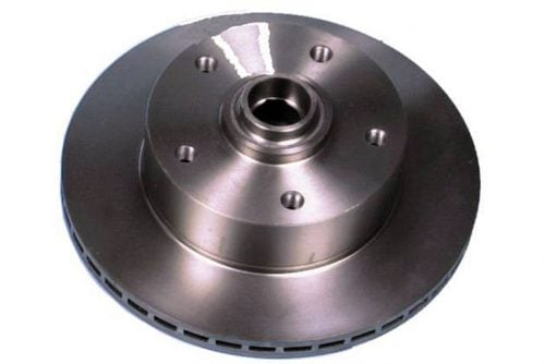 Kerscher Brake Disc Front Vented 130/5, fits Volkswagen Beetle