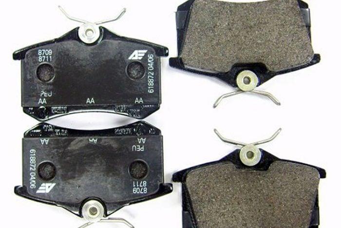 Kerscher Disc Brake Pads for 1 Piston Calipers, fits Volkswagen Beetle