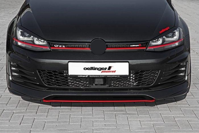 Oettinger Front Spoiler, fits Volkswagen Golf GTI Mk7.0