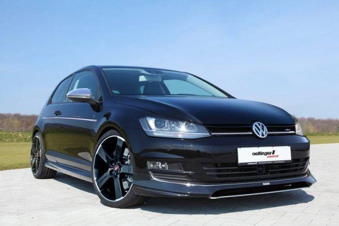 Oettinger Front Splitter for Oettinger Spoiler, fits Volkswagen Golf Mk7