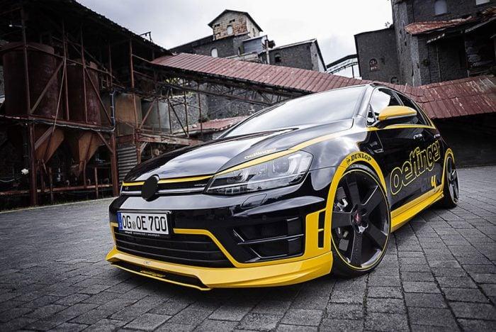 Oettinger Front Grille, fits Volkswagen Golf Mk7.0
