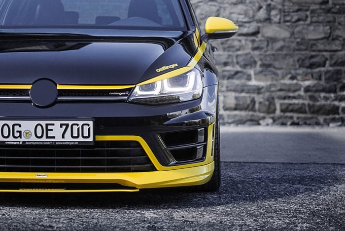 Oettinger Front Spoiler, fits Volkswagen Golf R Mk7.0