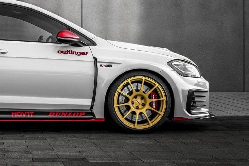 "Oettinger 19"" TCR Street Design Forged Rim for TCR Body Kit, fits Volkswagen Golf GTI/R Mk7"