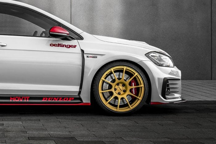 "Oettinger 19"" TCR Street Design Forged Rim for TCR Body Kit, fits Volkswagen Golf GTI/R Mk7"