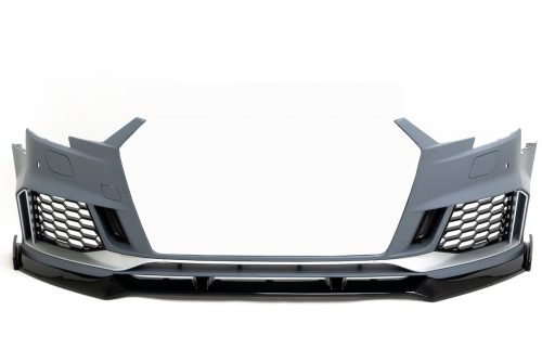 BKM Front Bumper with Front Lip, fits Audi A3/S3 8V5