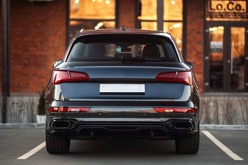 BKM Body Kit with Exhaust, fits Audi Q5/SQ5 B9