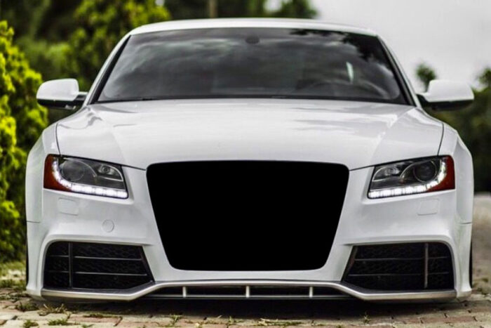 BKM Front Bumper with Lip, fits Audi A5/S5 B8.0