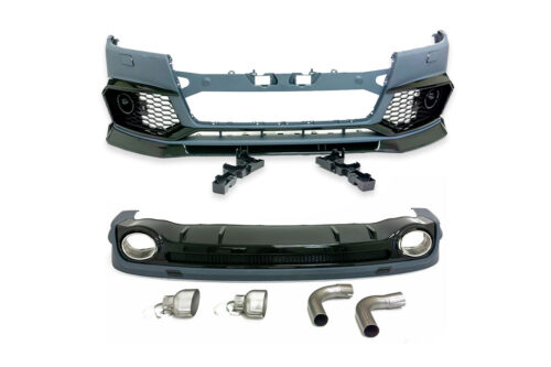 BKM Body Kit, Glossy Black, fits Audi SQ5/Q5 S-Line B9